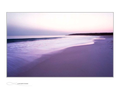 Beautiful Bunker Bay in Dunsborough - slow shutter speed.